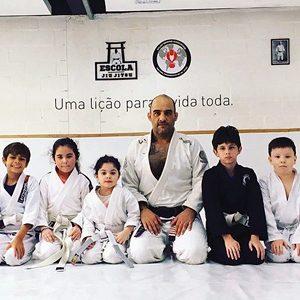 Jiu-Jitsu Infantil Escola Jiu-Jitsu SBA